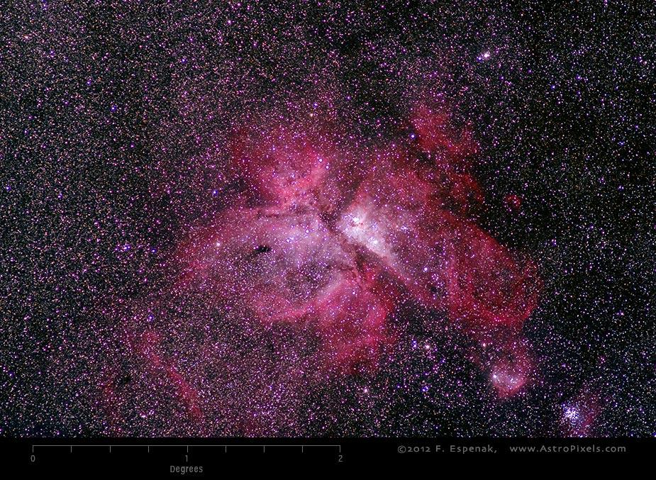 Ngc 3372 Caldwell 92 Eta Carinae Nebula
