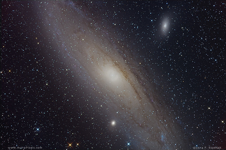 andromeda galaxy distance from - photo #37