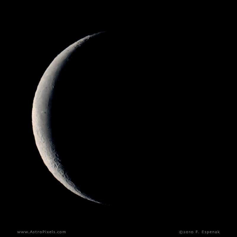 Waning Crescent Moon - 26.2 days
