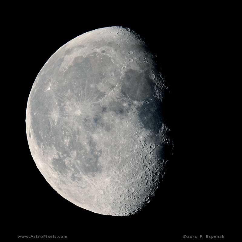Gibbous Moon - 18.6 days Waning Gibbous Moon Phase