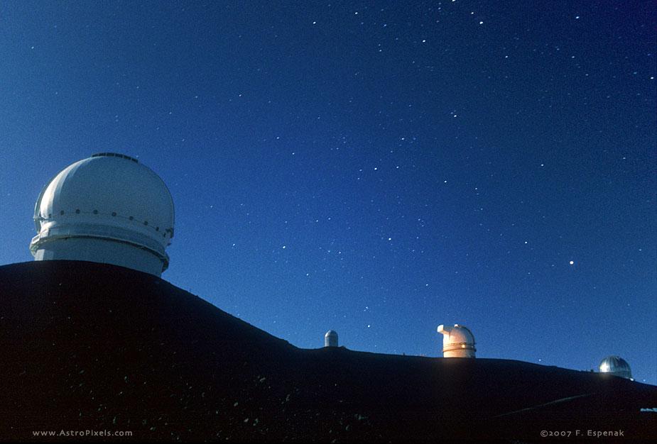 Moonlite Summit of Mauna Kea - 1