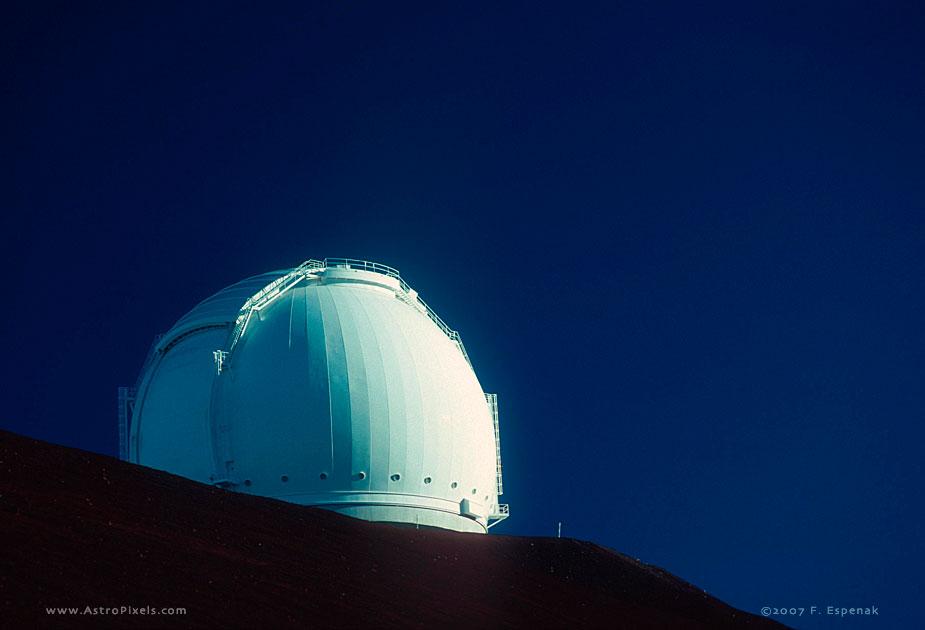 Moonlit Night at Observatory